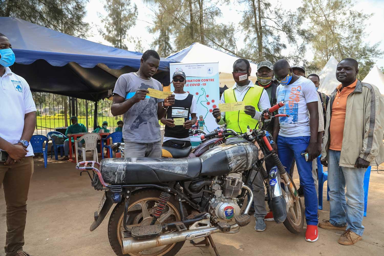 Vaccination des Moto-Taximen